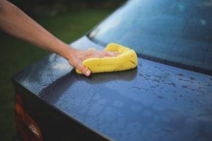 ścieranie auta